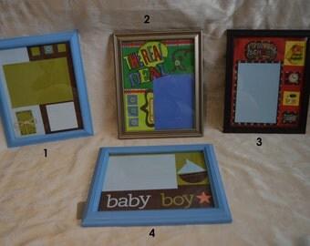 Scrapbook Picture Frames