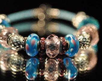 Blue Bubblegum ~ Bracelet