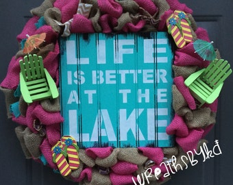 Colorful Life is Better at The Lake
