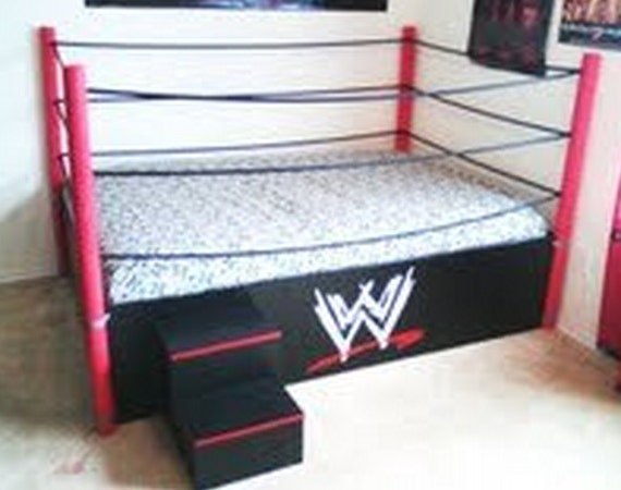 Boy Girl Twin Wrestling Bed