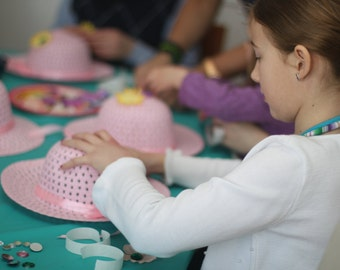 Tea Party Hat Craft