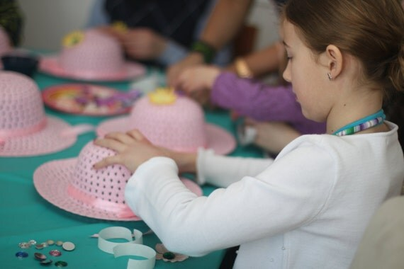 tea party craft ideas tea hat craft 5538