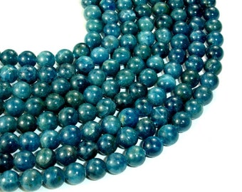 Apatite Beads, Round, 6mm (6.3mm), 15.5 Inch, Full strand, Approx 65 beads, Hole 0.8 mm  (120054005)