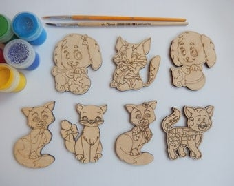 Etsy your place to buy and sell all things handmade for Craft supplies wooden shapes