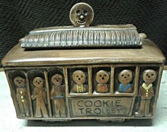 Vintage Cookie Trolley Cookie Jar