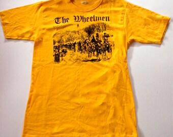 Vintage 'Wheelmen' T-Shirt, Yellow