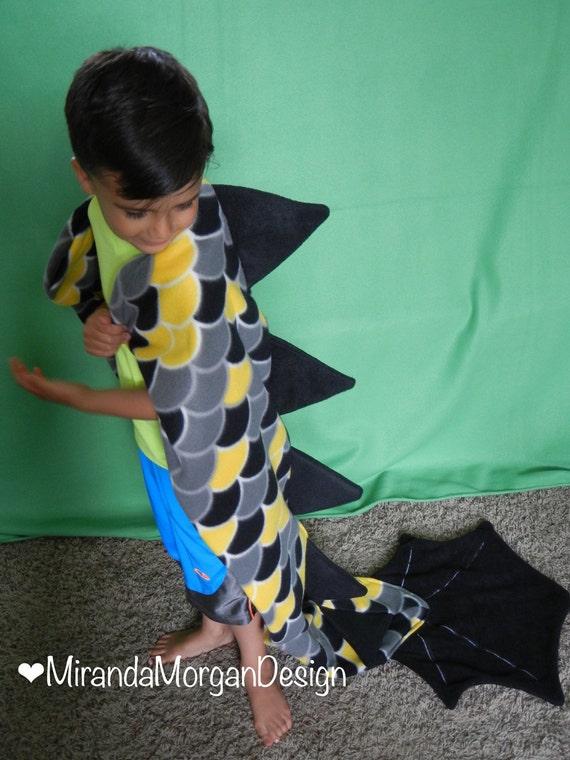Dragon Blankets Dragon Tail Blanket / Wearable