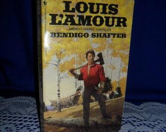 1983 Louis L'amour - Bendigo Shafter, America's Favorite Storyteller