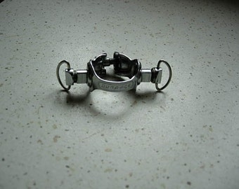 vintage dura-ace down tube band round clip for gear levers