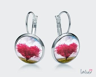 Earrings LOVE TREE