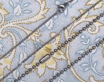Stainless steel Dainty chain extra add on - ONE HAMMER CREATIONS