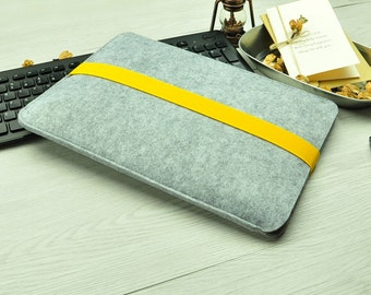 Felt laptop case,MacBook Air 11 inch sleeve,11 inch MacBook Air case,11 inch MacBook Air cover,laptop sleeve 11 inch,Custom Other Size BN007