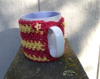 Gryffindor mug cozy