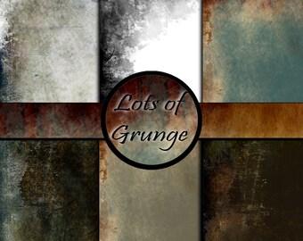 Grunge rustic digital scrapbook paper grunge bordered grunge
