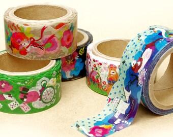 Kayo Horaguchi die-cut masking tape Ver.2