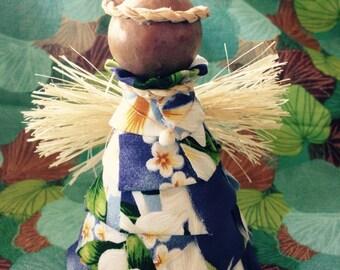 Hawaiian Print Guardian Angel