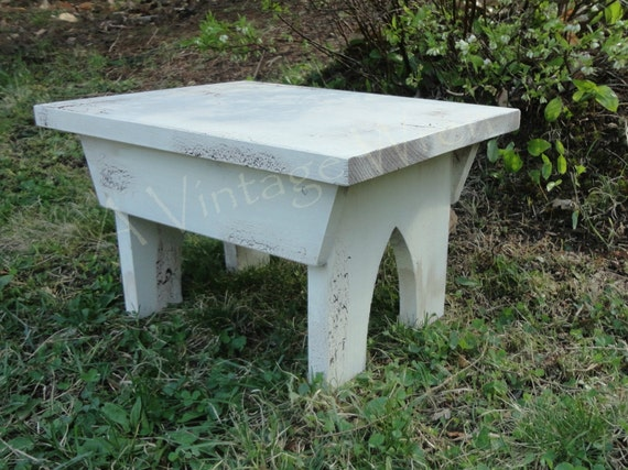 Items Similar To Handmade Painted Wooden Bench Primitive Bench Stacking Bench Farmhouse