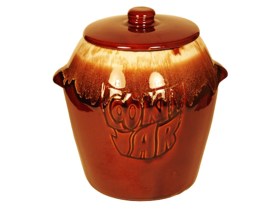 Items Similar To McCoy Brown Drip Cookie Jar Collectible