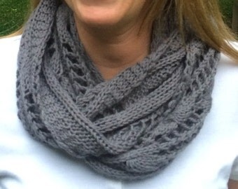 Cashmere Enchained Infinity Scarf/ Cowl