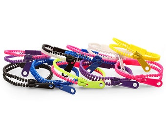 Fun Zipper Bracelets