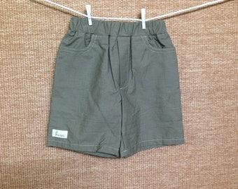 Boys shorts - khaki. Size 4.