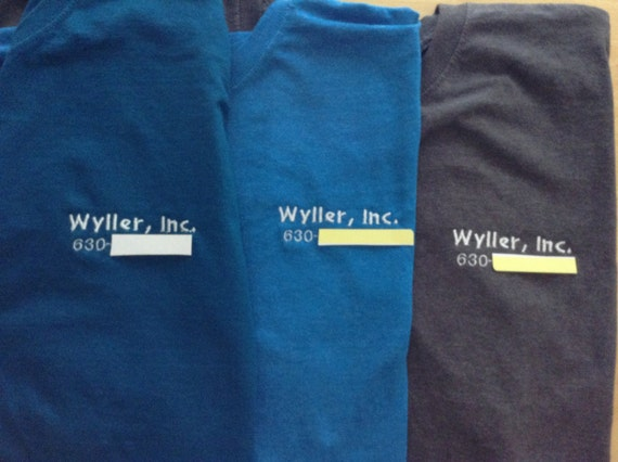 Items similar to custom embroidered shirts no minimum with for Custom embroidered work shirts no minimum