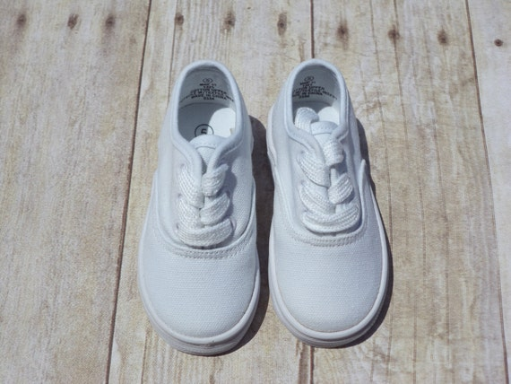 toddler white canvas shoes with laces soft by