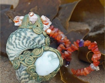 Cherished Ocean Mother - Necklace of the Sea