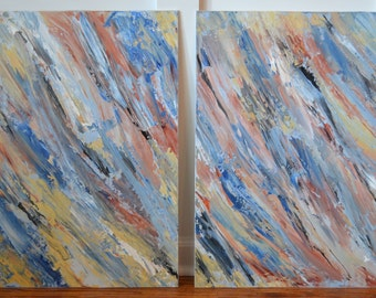 Abstract Palette Knife