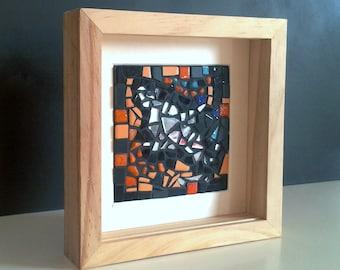 Mosaic table framework wood - series SUNLIGHT 1