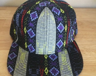 Blank Aztec Snapbacks Multiple Colors