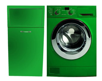 """Mobile laundry """" GREEN"""" for customizable color and size"""