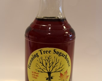 Running Tree Sugarhouse Pure Maple Syrup - 1 Pint (16 oz.)