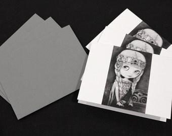 Blythe Isolde, Celtic Princess Notecards - Set of 3