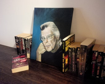 Stephen King - Print of Original Painting by Anderson