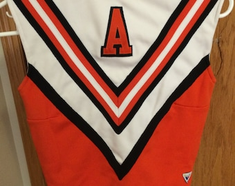Cheerleading Uniform Top (Orange)