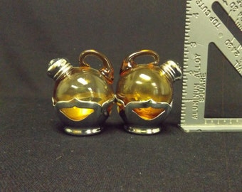Cambridge Glass Faber Bros. Salt and Pepper Shakers