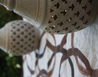 Runner or tablecloth in linen or cotton