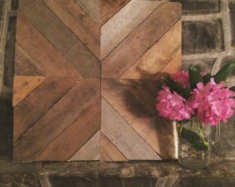 Reclaimed Wood Barn Quilt Art