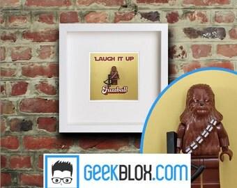 Chewbacca Lego Framed