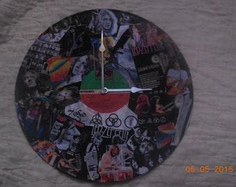 Led Zepplin wall clock