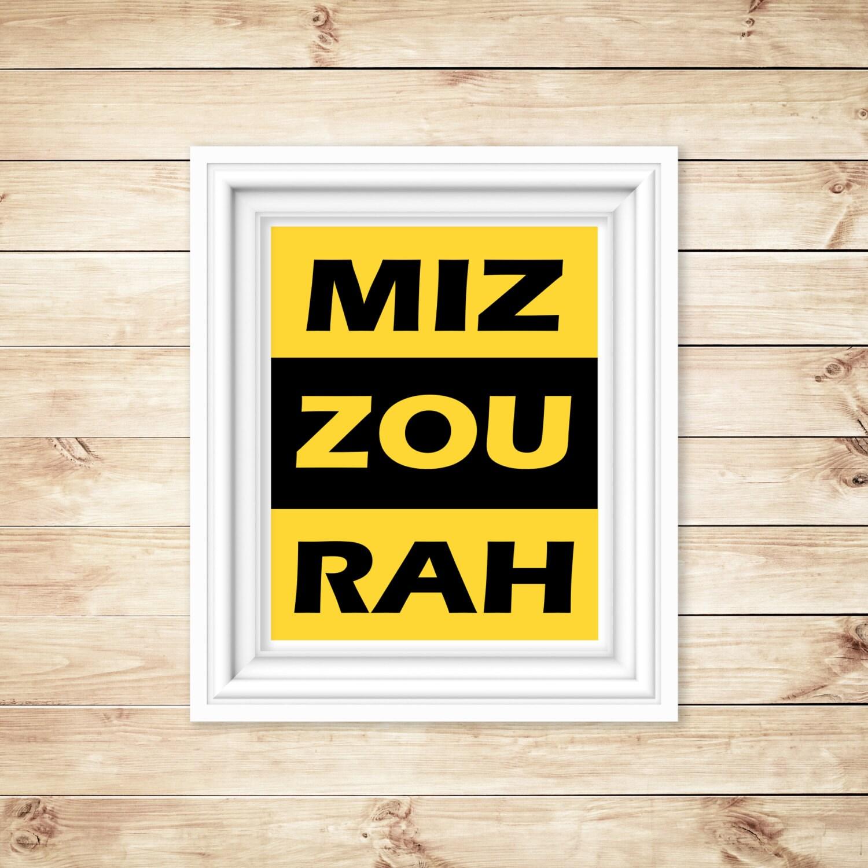 Mizzou Home Decor Mizzou Folded Book Of Missouri Home