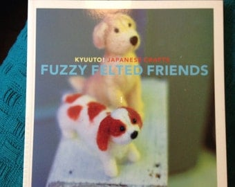 Fuzzy felted friends book