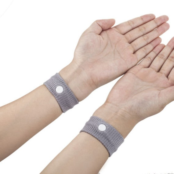 Acupressure bands for nausea