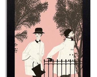 Cristóbal Balenciaga - Fashion Illustration Print Fashion Print Fashion Art Fashion Wall Art Fashion Poster Fashion Sketch Art Print