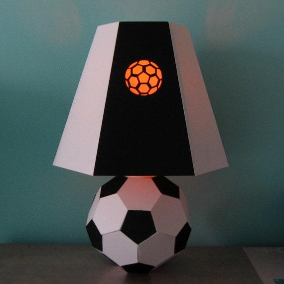 fu ball lampe vorlage von treasuredtemplates auf etsy. Black Bedroom Furniture Sets. Home Design Ideas