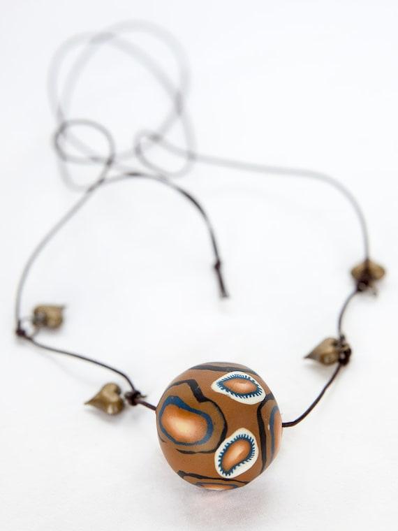 Gypsy pendant, pendant, necklace, pendant necklace, jewelry, gypsy, one of a kind, handmade, hippie, chunky, statement, charm, copper, long