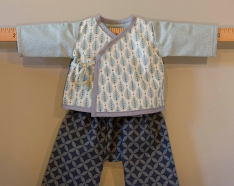 All doubled cache-coeur bra and trousers 3 months YAMAMOTO