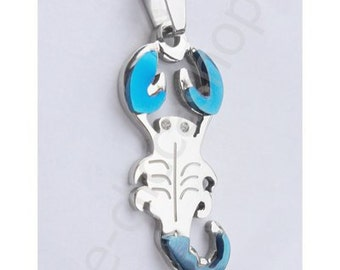 STEEL SCORPION PENDANT