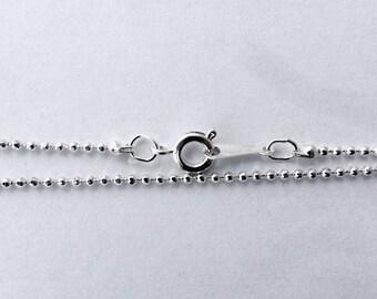Chain-dot silver